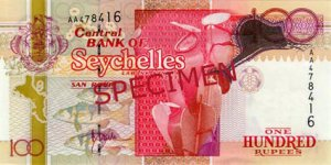 100 Rupee Note